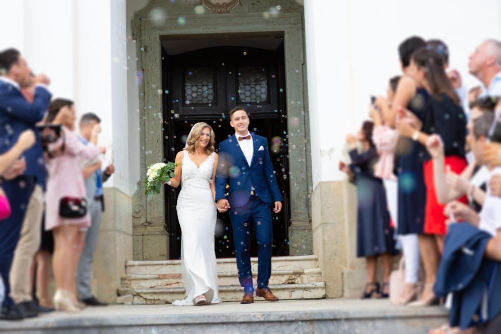 Spalier stehen Hochzeit
