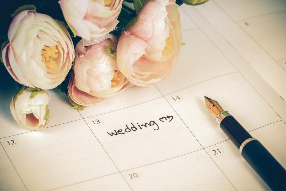Datum Hochzeit Planen