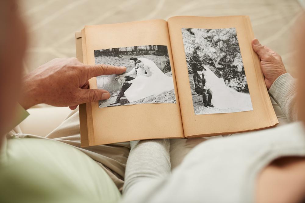 Album Hochzeit Senioren